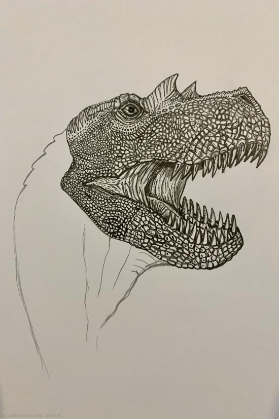 WIP - FIERCE DINOSAUR