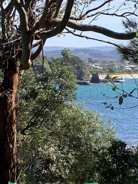 A view of Jones Beach
