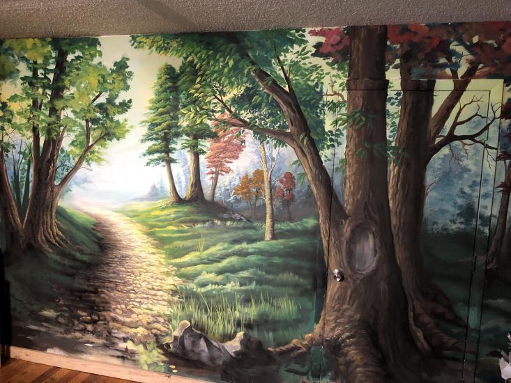 Forest Landscape Mural