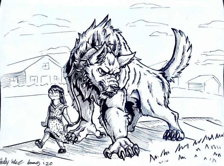 Darktober: Comedic Werewolf