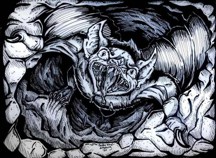 Darktober: Horrific Bat