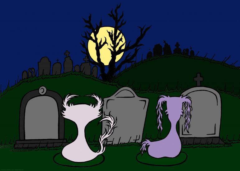 Doom & Gloom - Graveyard Scene