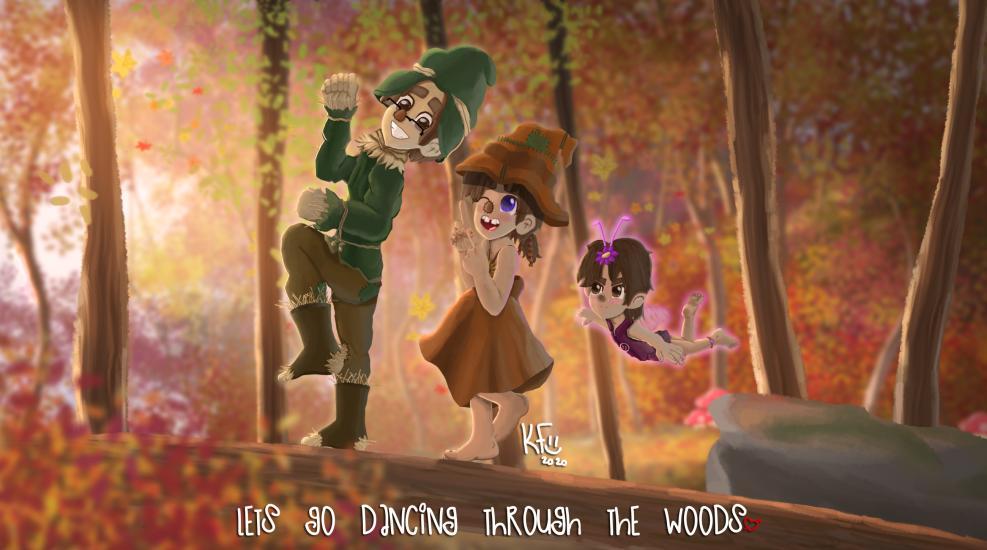 Fun In The Woods The Autumn Cutie