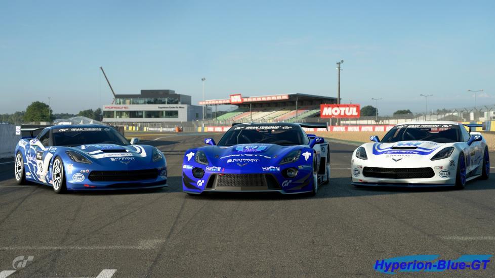 U.D.R.S Chevrolet Corvette C7 Team