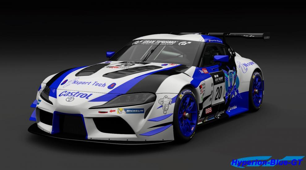 Toyota U.D.R.S iNSport Tech GR Supra Racing