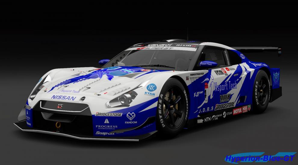 Nissan U.D.R.S iNSport Tech GT-R (SUPER GT) '08