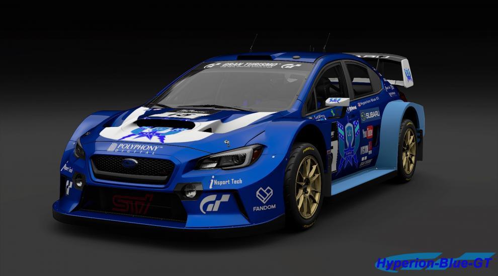 Subaru WRX Gr.B U.D.R.S Rally Car