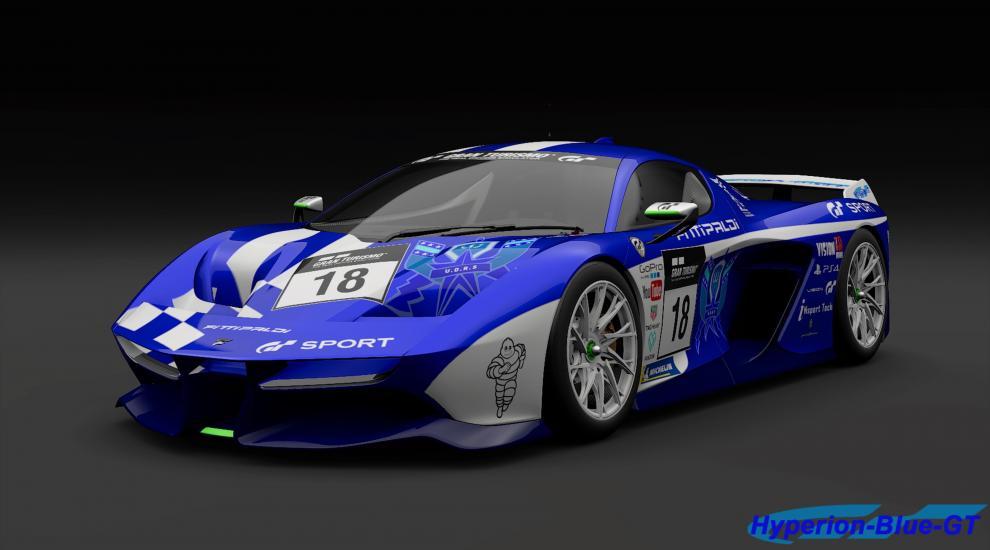 Fittipaldi EF7 Vision Gran Turismo U.D.R.S Livery
