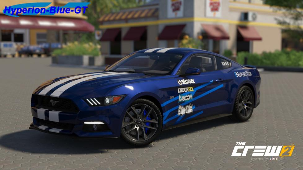 Ford Mustang '15 My First Stage Livery The Crew 2