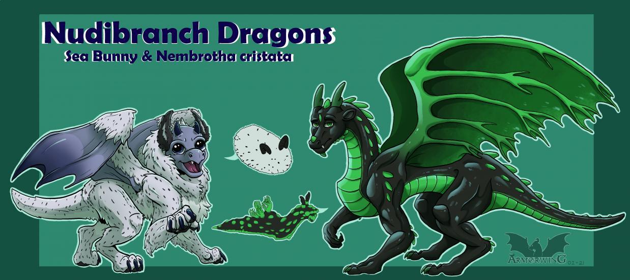 Nudibranch Dragons Pt. 1