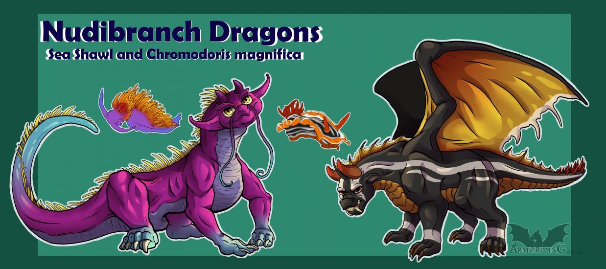 Nudibranch Dragons Pt. 2