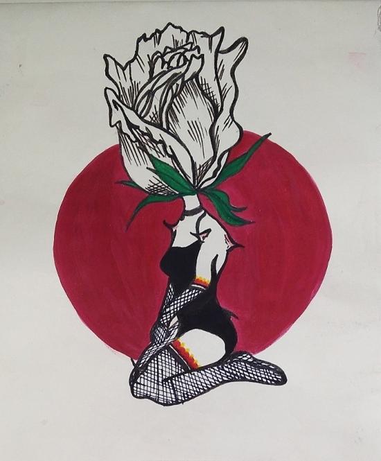 Rose headed human