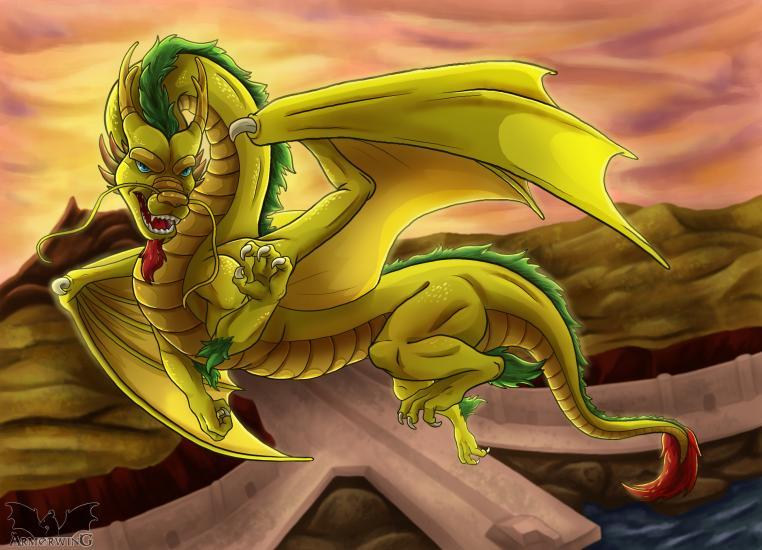 Ryujin the Golden Dragon