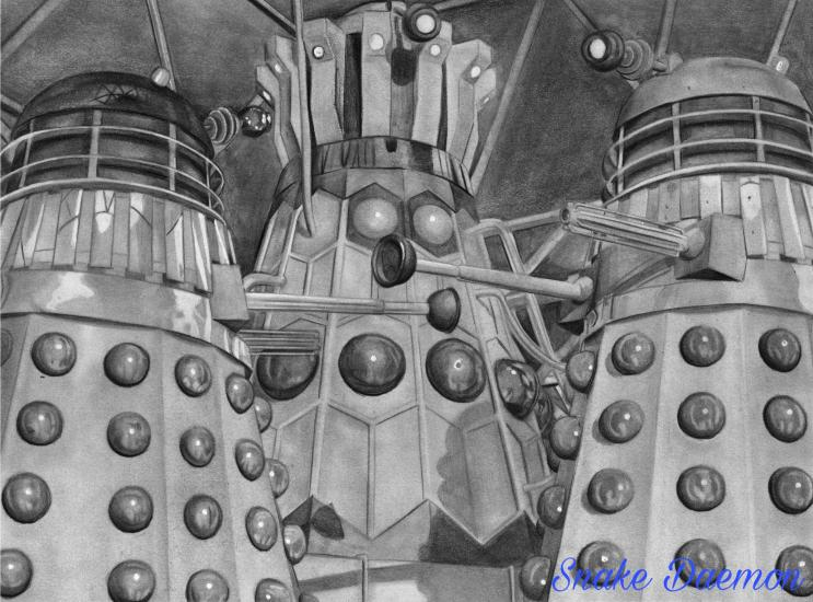 Daleks Throne Room