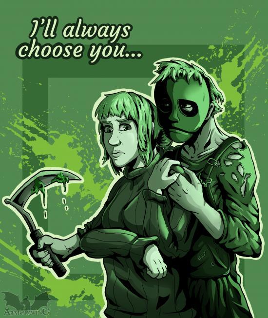 Horror Valentine - Taylor and Leslie