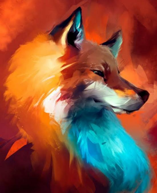 A amazing wolf