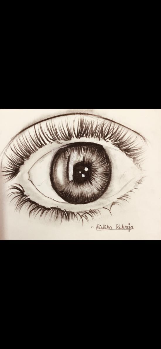 Realistic Eye by Rishika kukreja