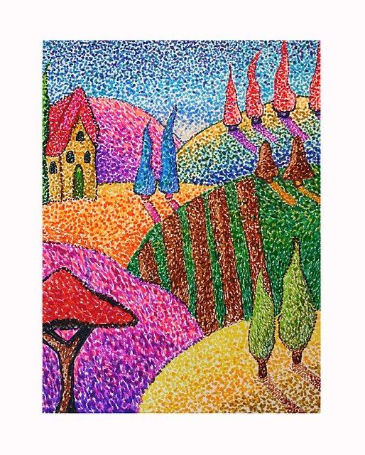 Pointillism Artworks