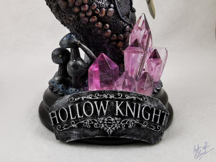 Hollow Knight resin statue completed