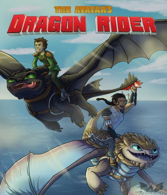 The Avatar's Dragon Rider
