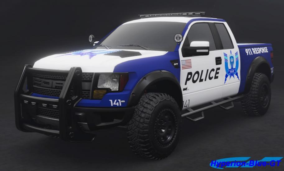 Ford F-150 SVT Raptor U.D.R.S Off-Road Enforcer