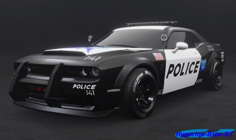 Dodge Challenger SRT Demon U.D.R.S Interception
