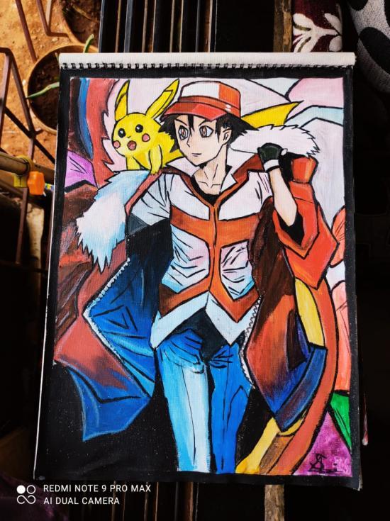Pokemon my fantasy character.