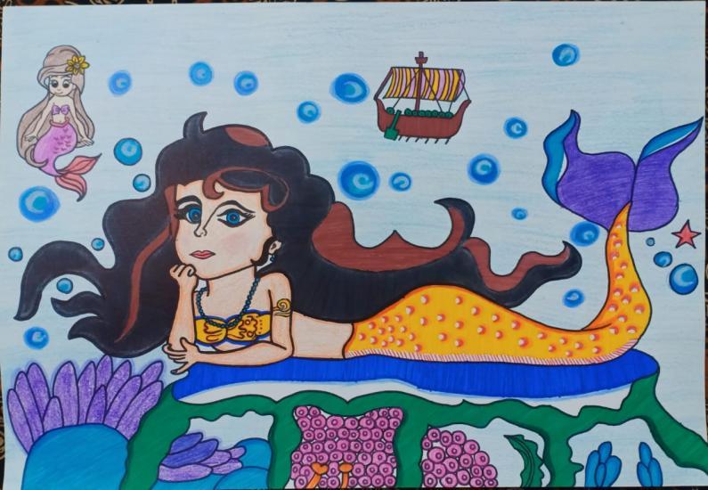 Jinnee Mermaid