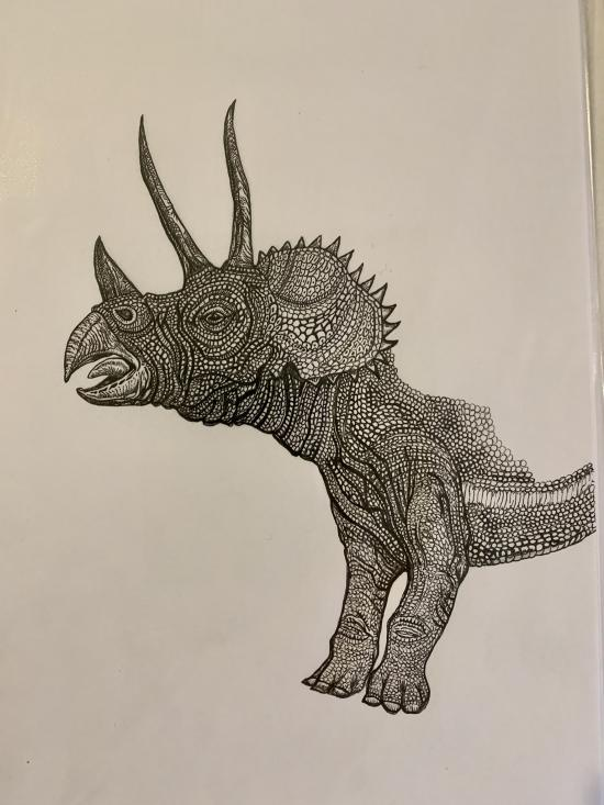 WIP - Triceratops- 1