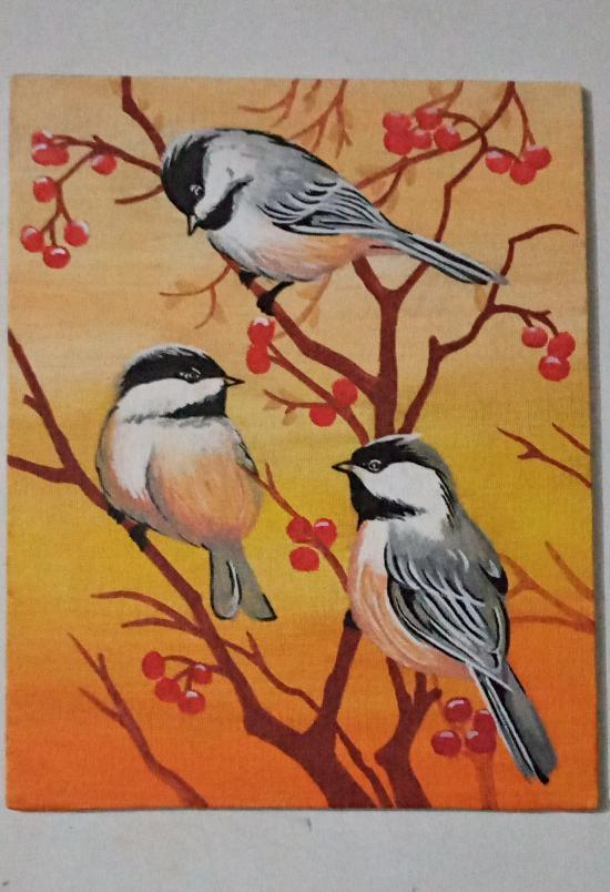 Chripping birds