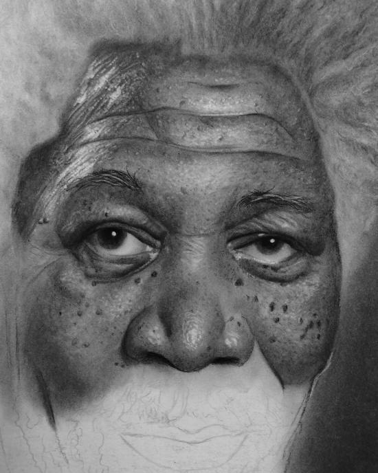 Morgan Close up