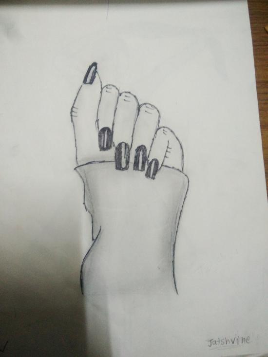 My drawing hand drawing