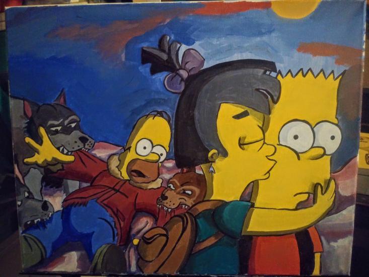 Bart's Kiss