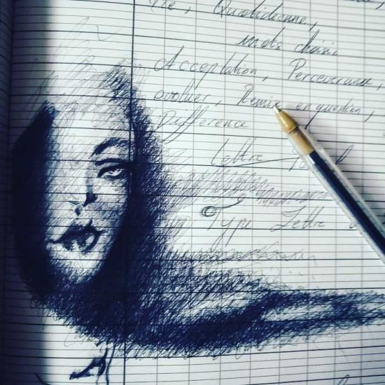 Petit croqui au stylo