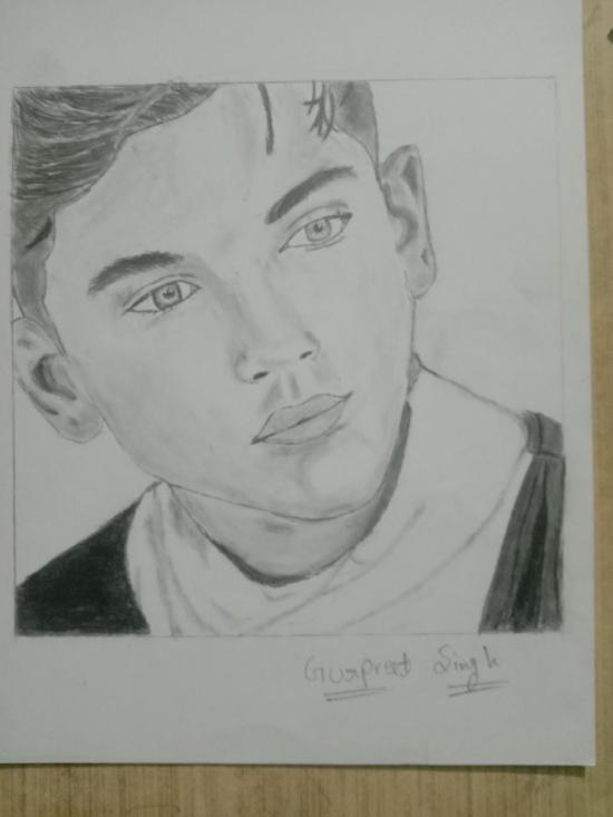 Drawing of Ozzy Model