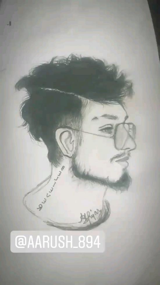 Realistic face portrait