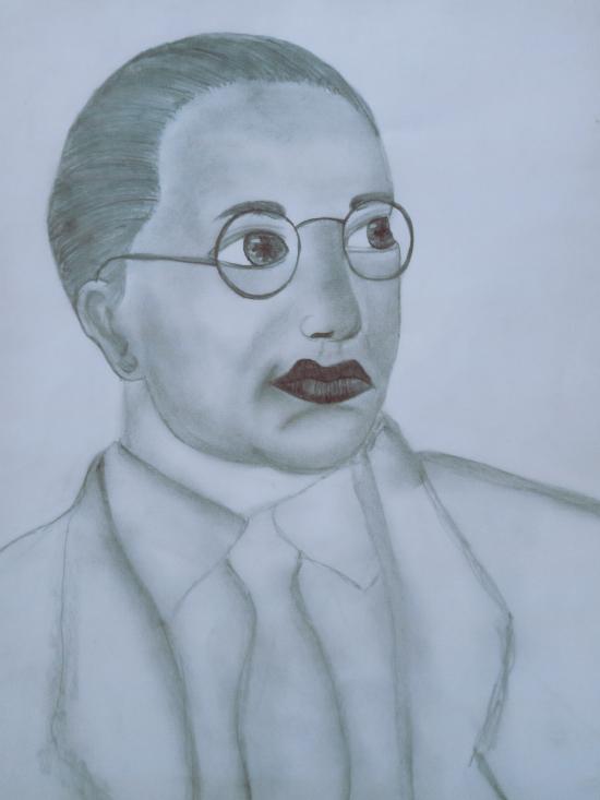 Baba saheb Ambedkar sketch