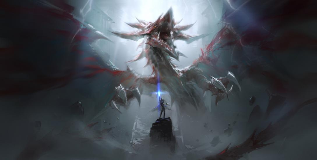 Battle of dragon