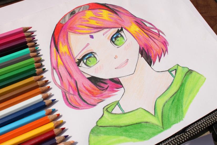 Drawing Sakura | Naruto