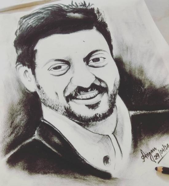 Sketch work_Irfaan Khan