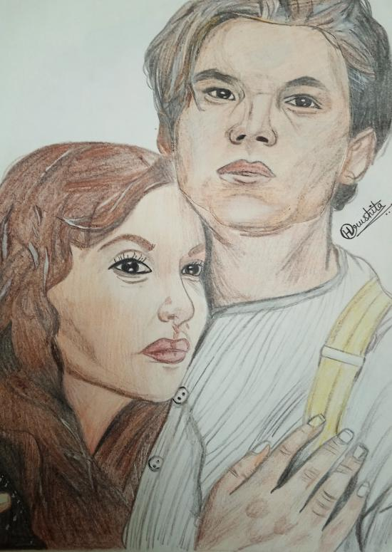 JACK AND ROSE COLOUR SKETCH