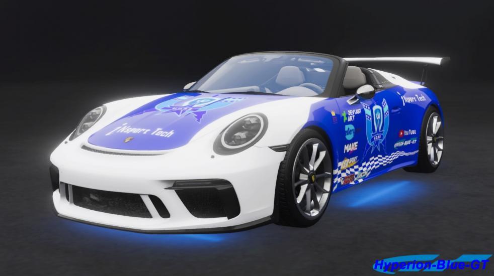 Porsche 911 Speedster (991) U.D.R.S Convertible