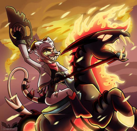 Fire Storm Striker