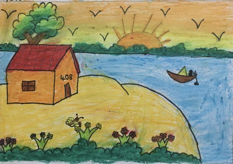My landscape drawing