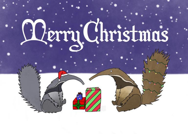 Anteater Christmas