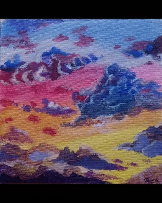 Dusk sky