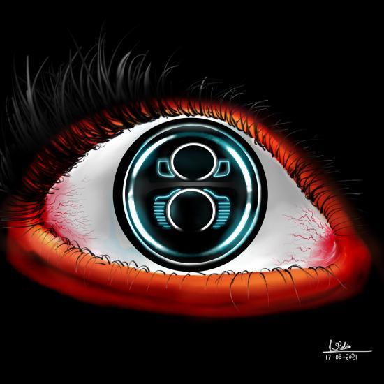 Volkswagen Beetle + Human Eye