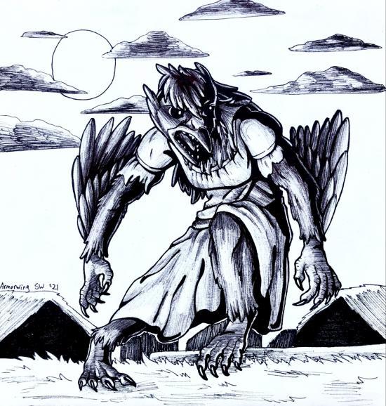 Julycanthropy: WereRaven