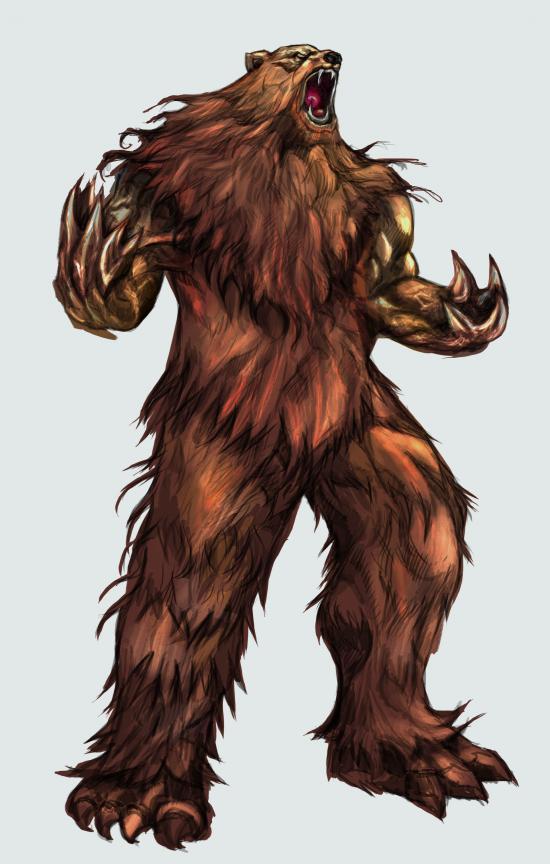 Roar Man-bear