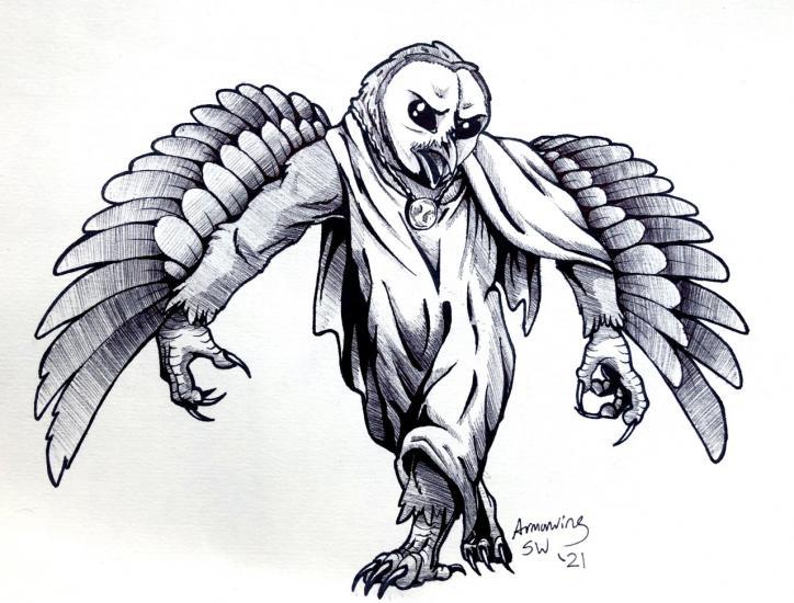 Julycanthropy: WereOwl
